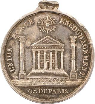 Orient de Paris, la loge Saint Pierre des Vrais Amis, 1880 Paris