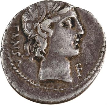 Vibia, denier, Rome, 90 av. J.-C
