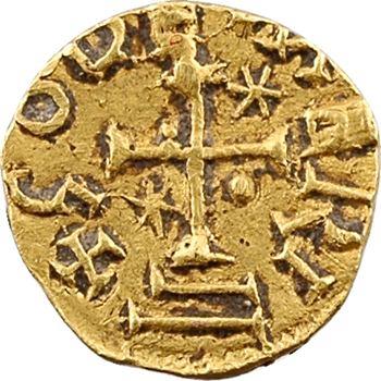 Neustrie ? atelier indéterminé, trémissis du monétaire Godemeri, c.600-630