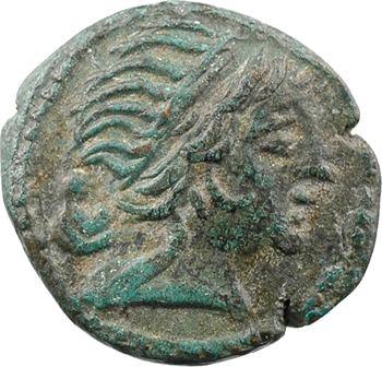 Thrace, Mésembria, bronze AE18, IIe-Ier s. av. J.-C.