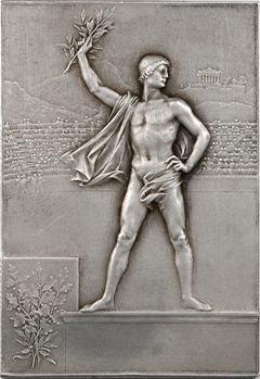 Vernon (F.) : Exposition Universelle et Jeux Olympiques de Paris, prix d'éducation physique, 1900 Paris