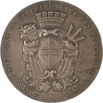 IVe République, Caisse d'épargne et de prévoyance des Bouches-du-Rhône, Arles, 1945