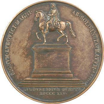 Charles X, remplacement de la statue de Louis XIV à Lyon, 1825 Paris