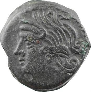 [Carnutes ou] Bituriges, bronze à l'aigle VANDIILOS, classe III, c.60-40 av. J.-C