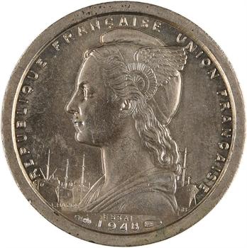 Cameroun, Union française, essai de 1 franc, 1948 Paris