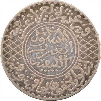 Maroc, Abdül Aziz I, 5 dirhams, AH 1323 (1905) Paris