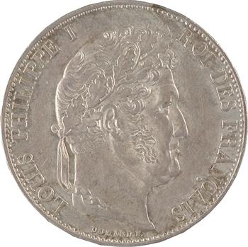 Louis-Philippe Ier, 5 francs IIIe type Domard, 1847 Paris