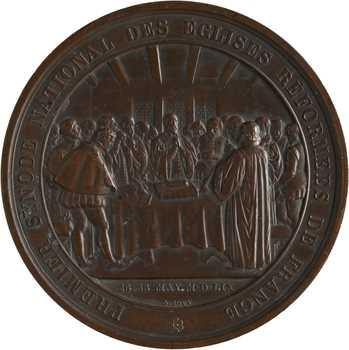 Second Empire, 3e jubilé séculaire de l'Église Réformée de France, par Bovy, 1859 Paris