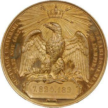 Second Empire, rétablissement du régime impérial, novembre 1852