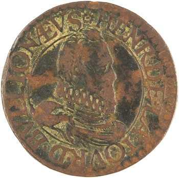 Sedan (principauté de), Henri de La Tour, double tournois 6e type, 1614
