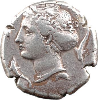Sicile, Syracuse, sous Denys l'Ancien, tétradrachme (travail non signé de Parmenides), 405-399 av. J.-C.