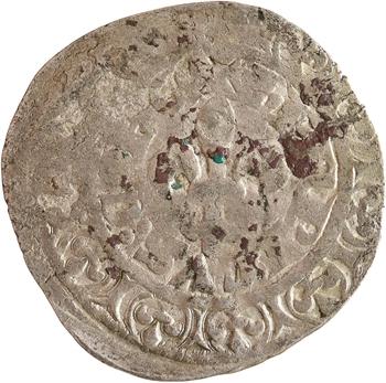 Bar (comté de), Henri IV, gros à la fleur de lis, imitation de Philippe VI, s.d. (c.1342-1344) Saint-Mihiel ou Lamarche-en-Woëvre