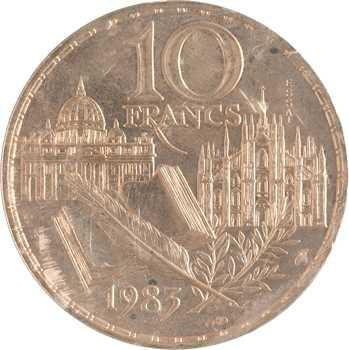 Ve République, essai de 10 francs Stendhal, 1983 Pessac