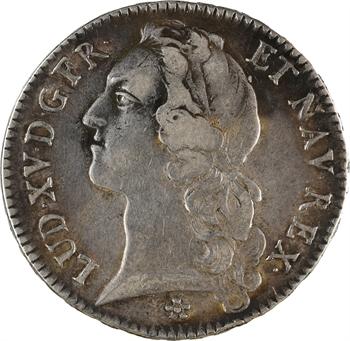 Louis XV, écu au bandeau, 1754 Metz
