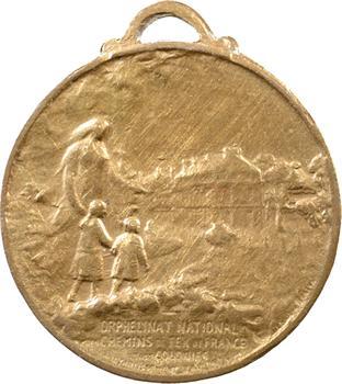 IIIe République, Orphelinat d'Avernes, des chemins de fer des colonies, 1917