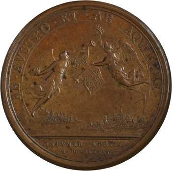 Louis XIV, la prise de Nice et de Mons, 1691 Paris