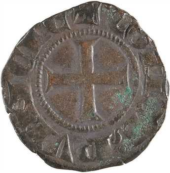Provence (comté de), Charles Ier d'Anjou, obole provençale coronat, s.d. (1277-1285)