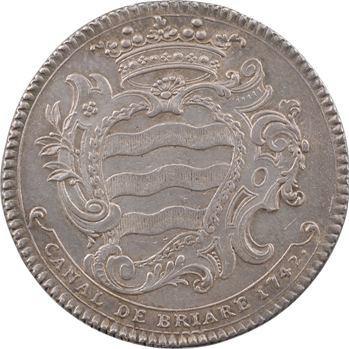 Orléanais, canal de Briare, 1742