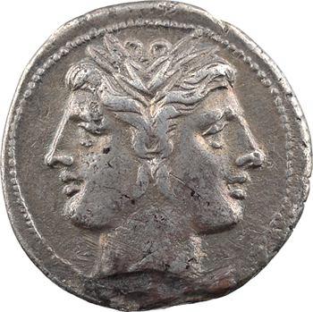 Anonyme, didrachme-quadrigatus, Rome, 225-215 av. J.-C.