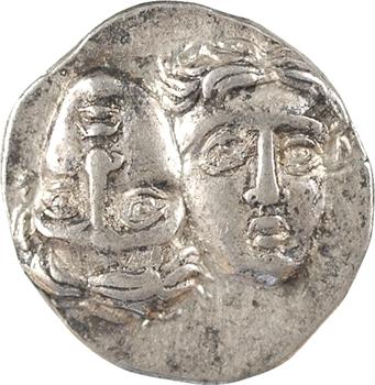 Thrace, Istros, drachme (A-boucle), IVe s. av. J.-C.