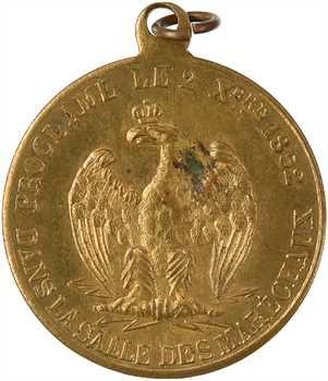 Second Empire, proclamation de l'Empereur, 1852 Paris