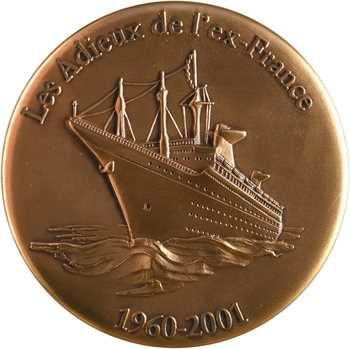 Les adieux de l'ex-France, dans sa boîte, 1960-2001