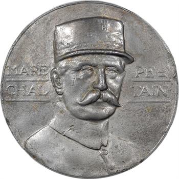 IIe Guerre Mondiale, le Maréchal Pétain, fonte, s.d. Paris