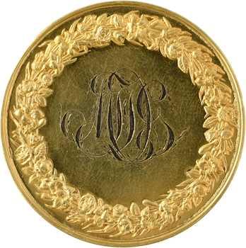 Louis-Philippe Ier, médaille de mariage, par Montagny, 1844 Paris