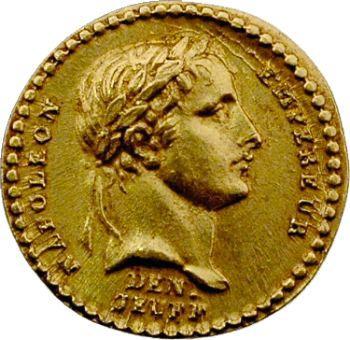 Premier Empire, médaillette du sacre en or, An XIII (1804)