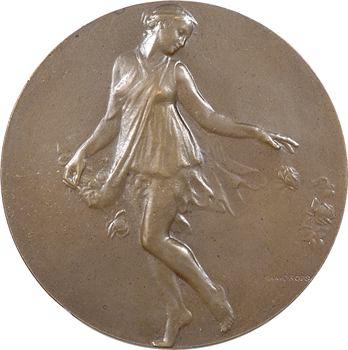 Dropsy (H.) : Jeune femme aux roses, s.d. Paris