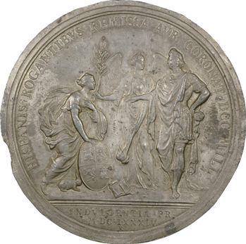 Louis XIV, remise aux Espagnols des contributions, 1684, frappe ancienne