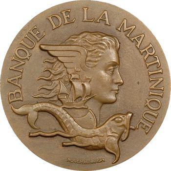 Martinique, centenaire de la Banque de la Martinique, 1953 Paris