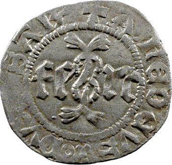Savoie (duché de), Amédée VIII, quart de gros, 4e type, Turin