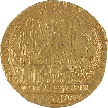 Jean II le Bon, écu d'or à la chaise, 4e émission