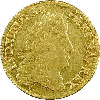 Louis XIV, louis d'or à l'écu, 1690 Paris