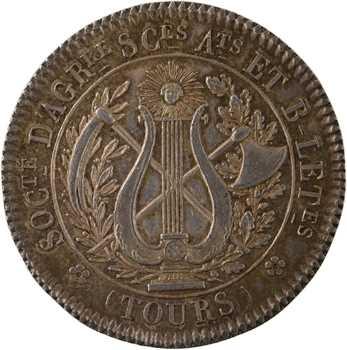 Premier Empire, Société d'Agriculture, Sciences et Arts de Tours, 1806