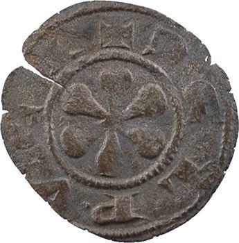 Auvergne, Le Puy (évêché), denier, début XIVe s.