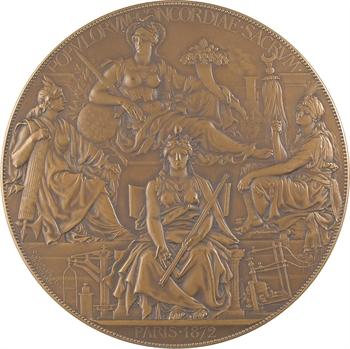 Chaplain (J.-C.) : Commission internationale sur le système métrique et sa diffusion, par Chaplain, 1872-1875 Paris