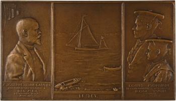Vernier (S.É.) : Souvenir de Beg Meil, à Joseph Etienne Gautier, fonte N° 7, 1895