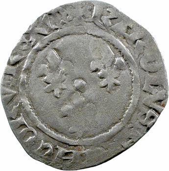 Charles VII, petit blanc aux trois lis 1re émission, Mont-Saint-Michel