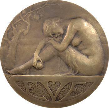 Yencesse (O.) : Ève à la pomme, s.d. Paris