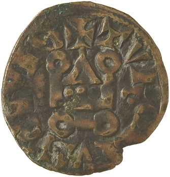 Philippe IV, obole tournois à l'O rond