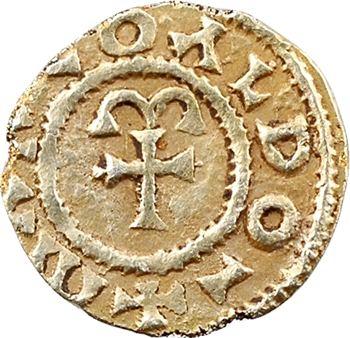 Aquitaine, Curzac (Haute-Vienne), trémissis or du monétaire Marcoaldo, s.d. (c.650)