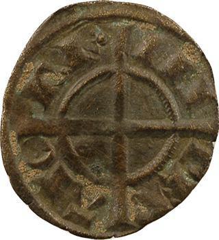 Italie, Sicile (royaume de), Frédéric II, denier, s.d. (1239) Brindisi