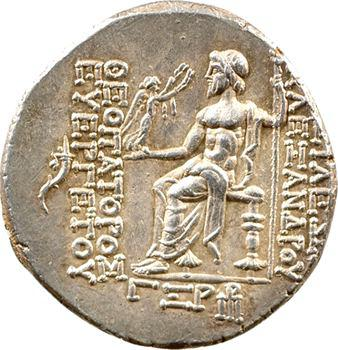 Syrie, Alexandre Ier Bala, tétradrachme, Antioche, 150-149 av. J.-C.