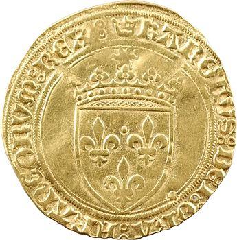 Charles VIII, écu d'or au soleil, 1re émission, Saint-Pourçain
