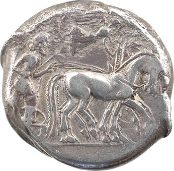 Sicile, Syracuse, sous Hiéron Ier, tétradrachme, 475-470 av. J.-C.