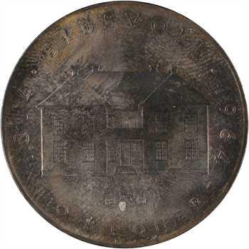 Norvège, 10 kronor (couronnes), 600 ans de la Constitution, 1964