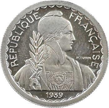 IIIe République, essai de 10 francs Turin hybride, petit module, 1929/1939 Paris