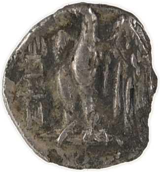 Judée [Égypte], sous Ptolémée II (?), domination ptolémaïque, hémiobole, s.d. (c.302-246 av. J.-C.) Jérusalem